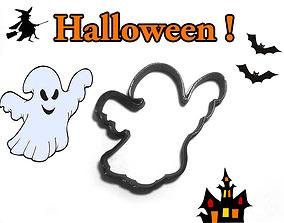 3D print model Cookie cutter Halloween Ghost