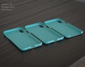 3D printable model IPhone XR Simple Case
