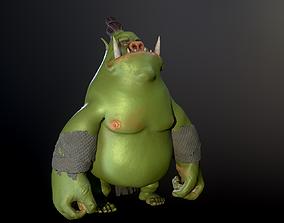 3D asset Green Ogre