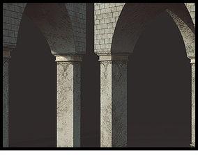 Roman Arch Model 3D asset