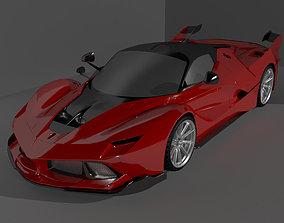 Ferrari FXXK supercar 3D model