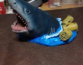Jaws Bruce The Shark 3D print model