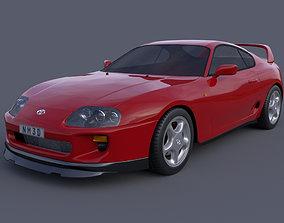 supra Toyota Supra MK4 3D