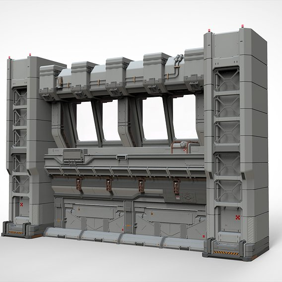 Sci Fi Modular Environment 5