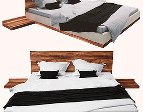 RILETTO Double bed TEAM 7 3D model