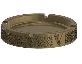 hobby-diy Viking - Nordic Ashtray 3D print model