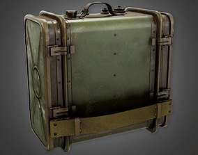 3D model Military Supplies Case 01 - MLT - PBR Game Ready