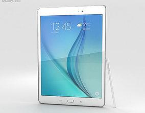 3D Samsung Galaxy Tab A 9-7 S Pen White
