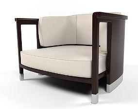 Dropp armchair 3D