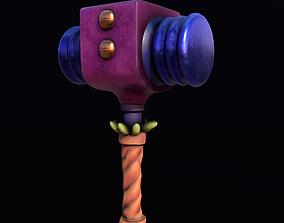 3D model Stylize Hammer