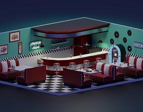 American Diner 3D model