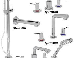 3D model Bath Faucet Collection HANSGROHE Talis S set 2