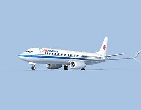 Boeing 737-800 Max Air China 3D model