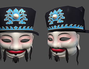 3D model Chinese God of Wealth Mask