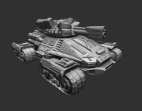 Tank of the future 3D print model