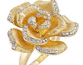 Flower ring 751 3D print model