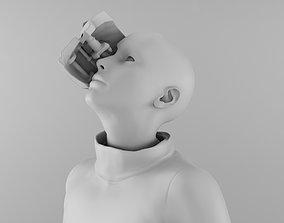 Robot Girl 3D printable model