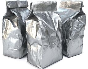 Foil Food Packaging - PBR Game-Ready 3D