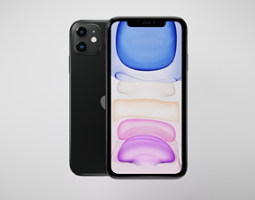 3D asset Apple iPhone 11
