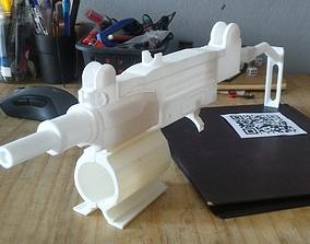 uzi for Ps4 VR aim controller 3D print model