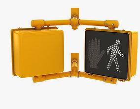 3D model Traffic Signal 001