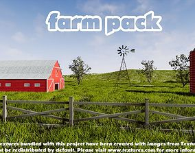 3D asset Farm Pack