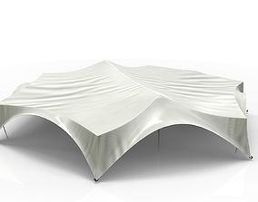 Hexagonal Festivity Tent 3D