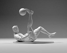 Footballer 02 Flipstrike 02 STL 3D printable model