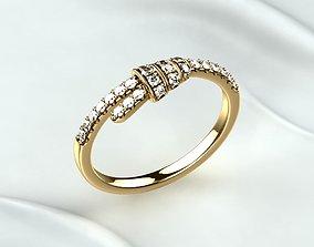 Fine Golden Ring 3D printable model