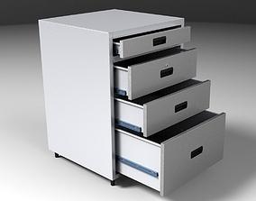 office 3D model File cabinet
