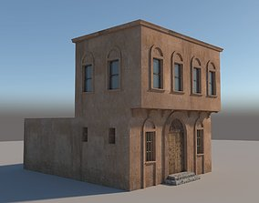 Medieval House exterior 3D