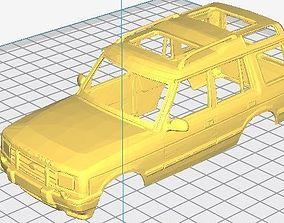 dakar Land Rover Discovery 200 Printable Body Car