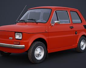 Polski Fiat 126p 3D model
