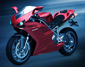 vehicle Ducati 1098 3D model