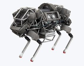 WildCat Robot Boston Dynamics 3D asset