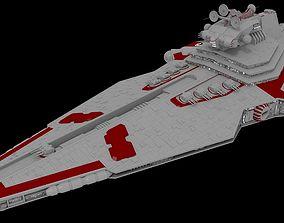 3D model Legacy - class Star Destoryer