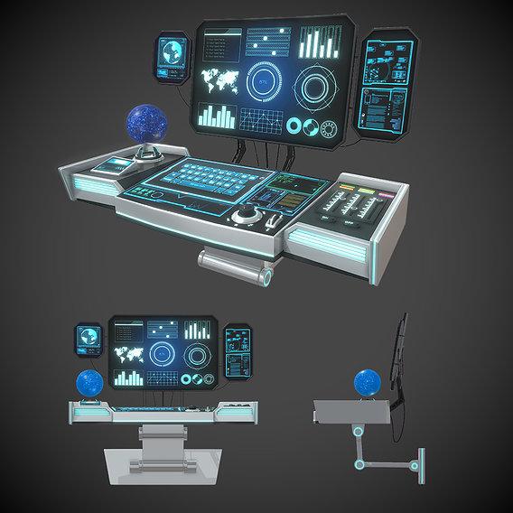 Sci-Fi Control Panel