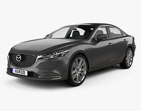 Mazda 6 sedan 2018 mk3f 3D model