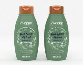 3D Aveeno Fresh Greens Blend Shampoo and Conditioner