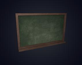 3D asset Green School Board
