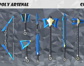Low Poly Arsenal - Cobalt 3D model
