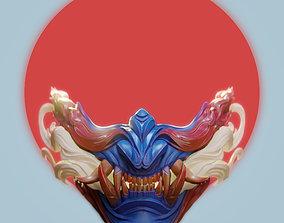 art 3D print model Oni Mask