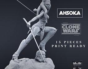 Ahsoka Tano 3D printable figure