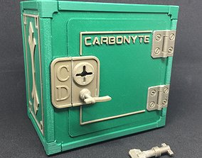 3D print model Carbonyte Lockable Mini Safe