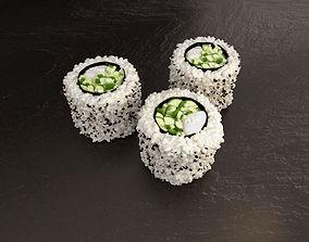 Hosomaki Kappa Philly Sushi 3D
