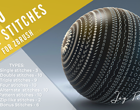 60 IMM stitches for using in ZBrush 3D model