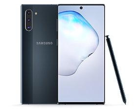 3D a51 Samsung Galaxy Note 10 Aura Black