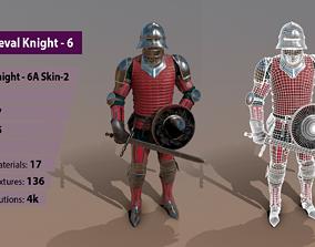 3D model TAB Medieval Knight - 6A - Skin2