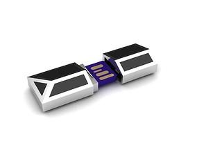 3D print model USB holder pendant