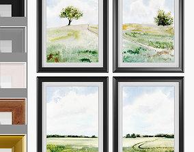 3D model Art Frams 14- Modern Farmhouse Painting